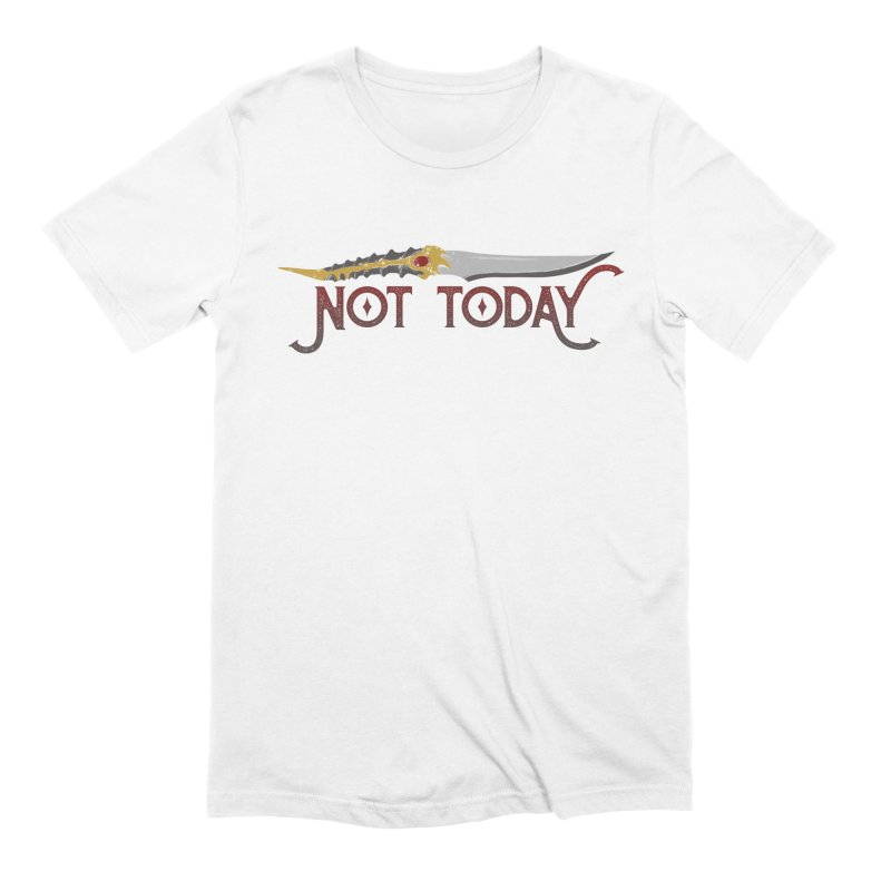 Not Today Men's T-Shirt by Wicked and Wonder