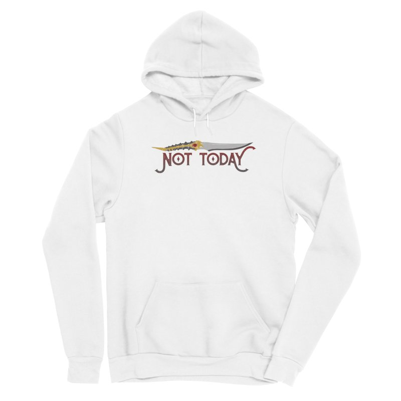 Not Today Men's Pullover Hoody by Wicked and Wonder