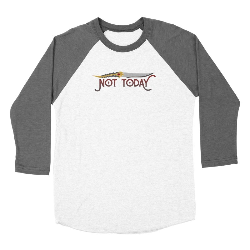 Not Today Women's Longsleeve T-Shirt by Wicked and Wonder