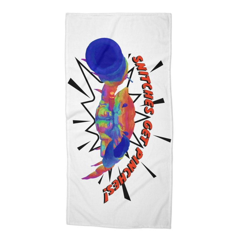 Snitches Get Pinches! Accessories Beach Towel by Wicked and Wonder