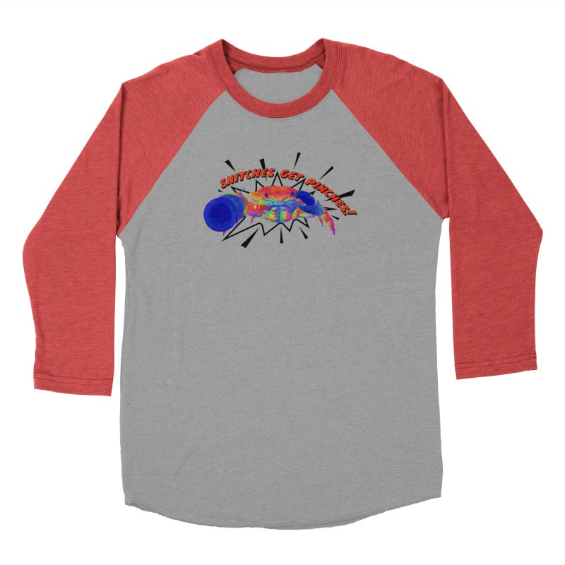 Snitches Get Pinches! Men's Longsleeve T-Shirt by Wicked and Wonder