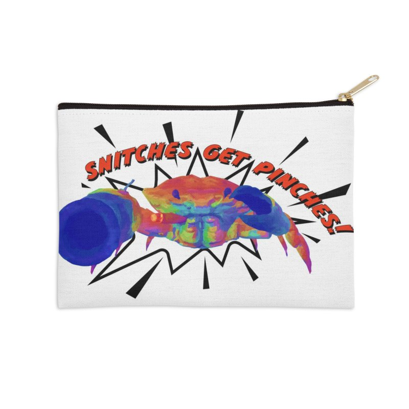 Snitches Get Pinches! Accessories Zip Pouch by Wicked and Wonder