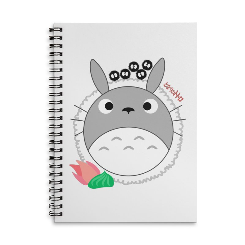 Totoroll Accessories Lined Spiral Notebook by Wicked and Wonder