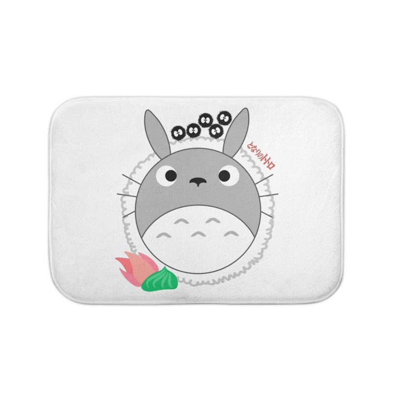 Totoroll Home Bath Mat by Wicked and Wonder