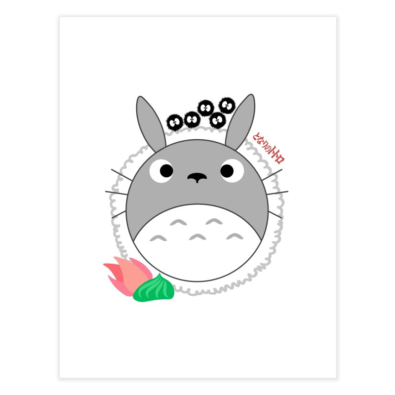 Totoroll Home Fine Art Print by Wicked and Wonder