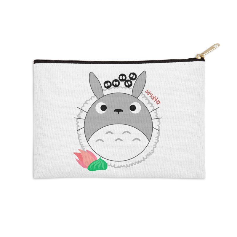 Totoroll Accessories Zip Pouch by Wicked and Wonder