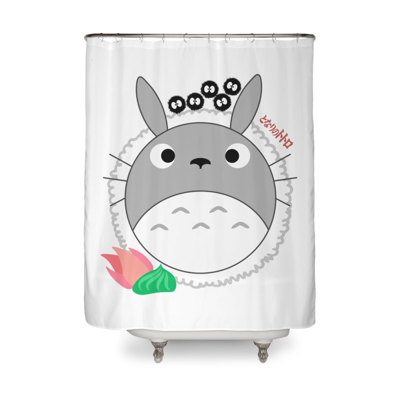 Totoroll Home Shower Curtain by Wicked and Wonder