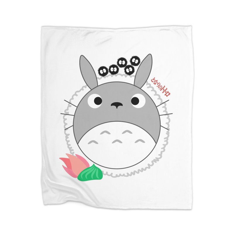 Totoroll Home Blanket by Wicked and Wonder