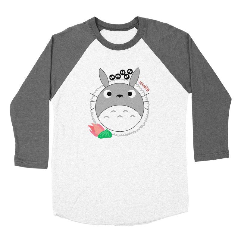 Totoroll Women's Longsleeve T-Shirt by Wicked and Wonder