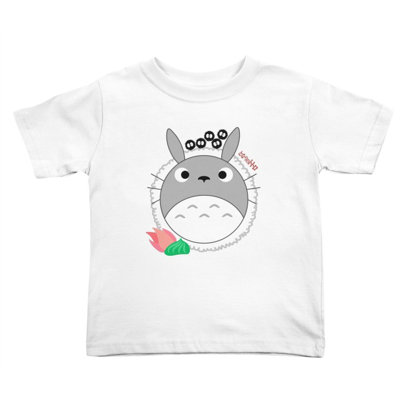 Totoroll Kids Toddler T-Shirt by Wicked and Wonder