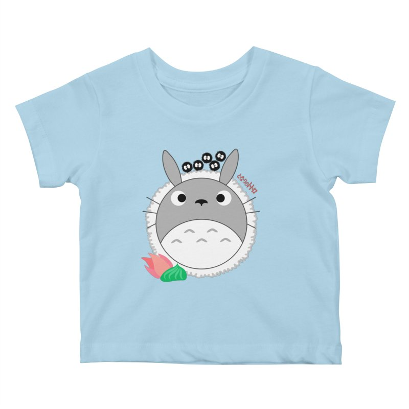 Totoroll Kids Baby T-Shirt by Wicked and Wonder