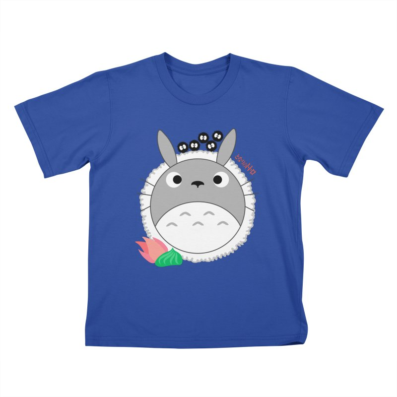 Totoroll Kids T-Shirt by Wicked and Wonder