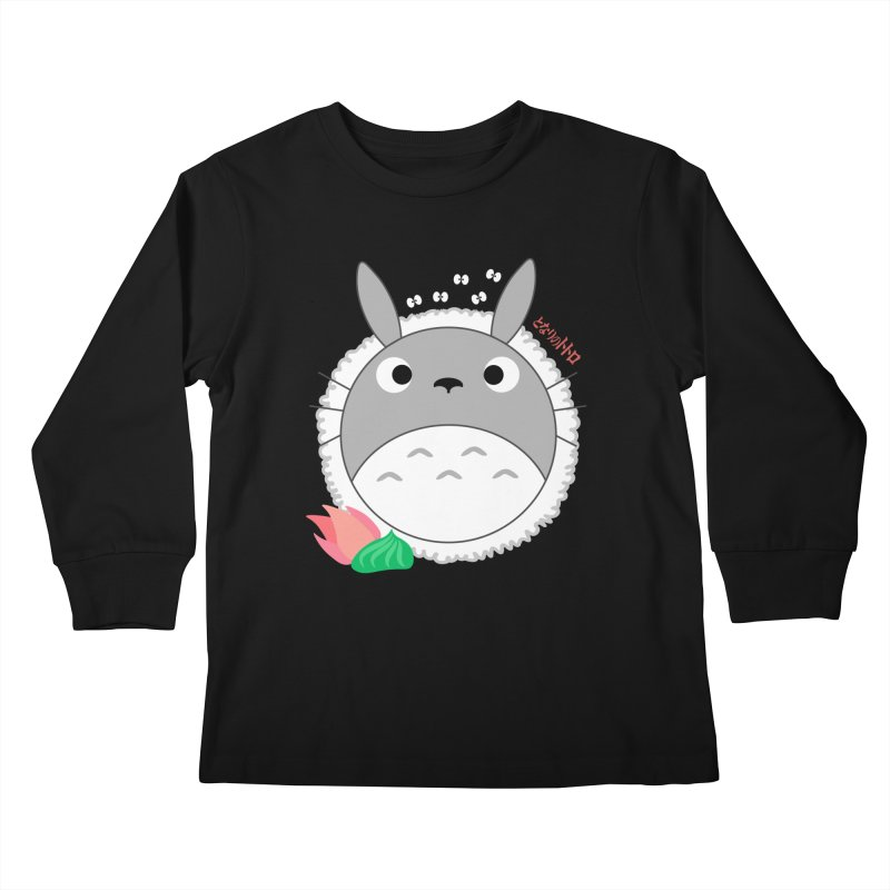 Totoroll Kids Longsleeve T-Shirt by Wicked and Wonder