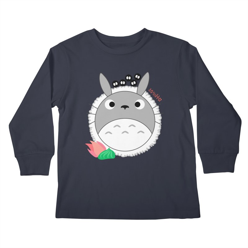 Totoroll Kids Longsleeve T-Shirt by Wicked and Wonder