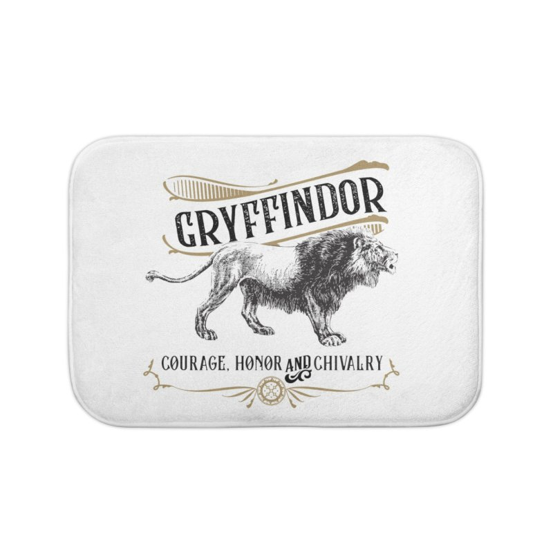 House of Gryffindor Home Bath Mat by Wicked and Wonder