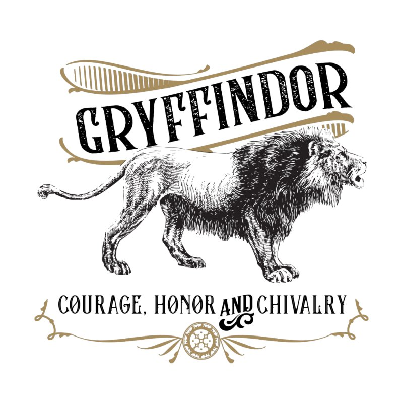 House of Gryffindor Men's Pullover Hoody by Wicked and Wonder