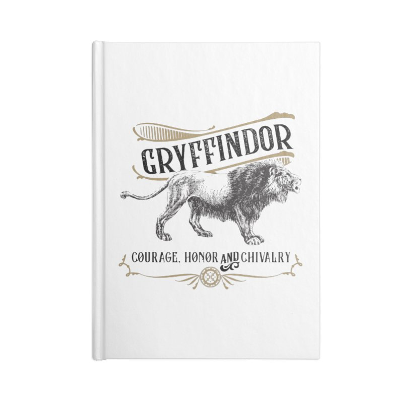 House of Gryffindor Accessories Notebook by Wicked and Wonder