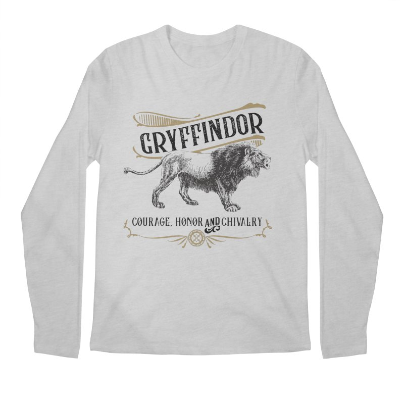 House of Gryffindor Men's Longsleeve T-Shirt by Wicked and Wonder