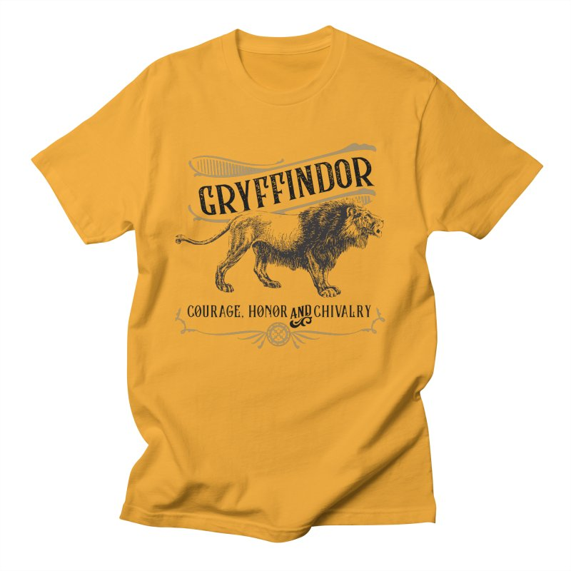 House of Gryffindor Men's T-Shirt by Wicked and Wonder