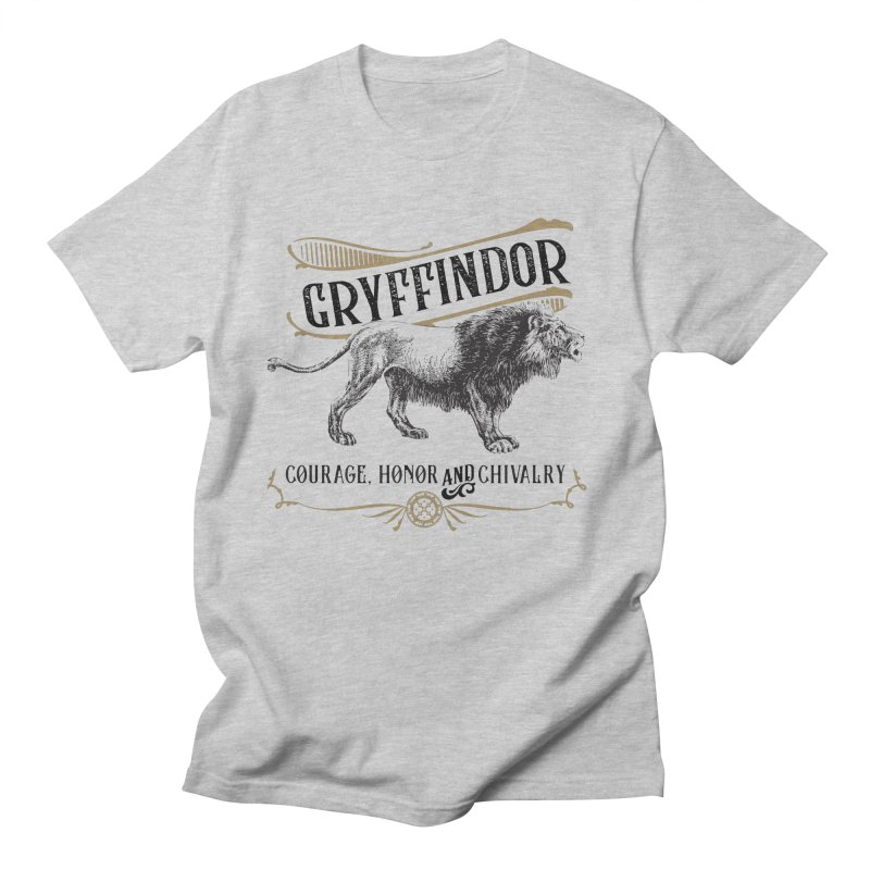 House of Gryffindor Women's Regular Unisex T-Shirt by Wicked and Wonder