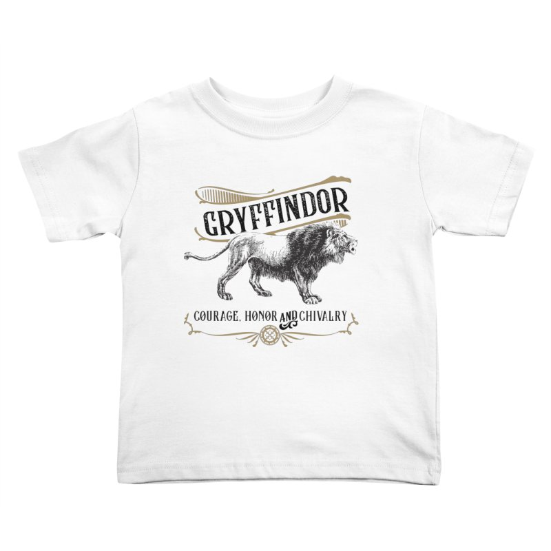 House of Gryffindor Kids Toddler T-Shirt by Wicked and Wonder
