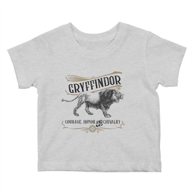 House of Gryffindor Kids Baby T-Shirt by Wicked and Wonder