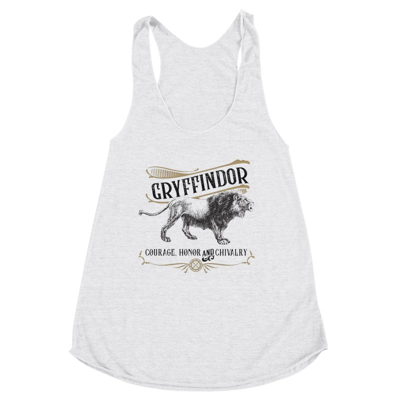 House of Gryffindor Women's Tank by Wicked and Wonder