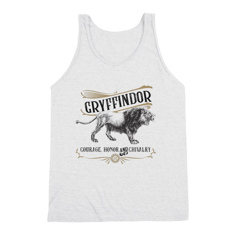 House of Gryffindor Men's Tank by Wicked and Wonder