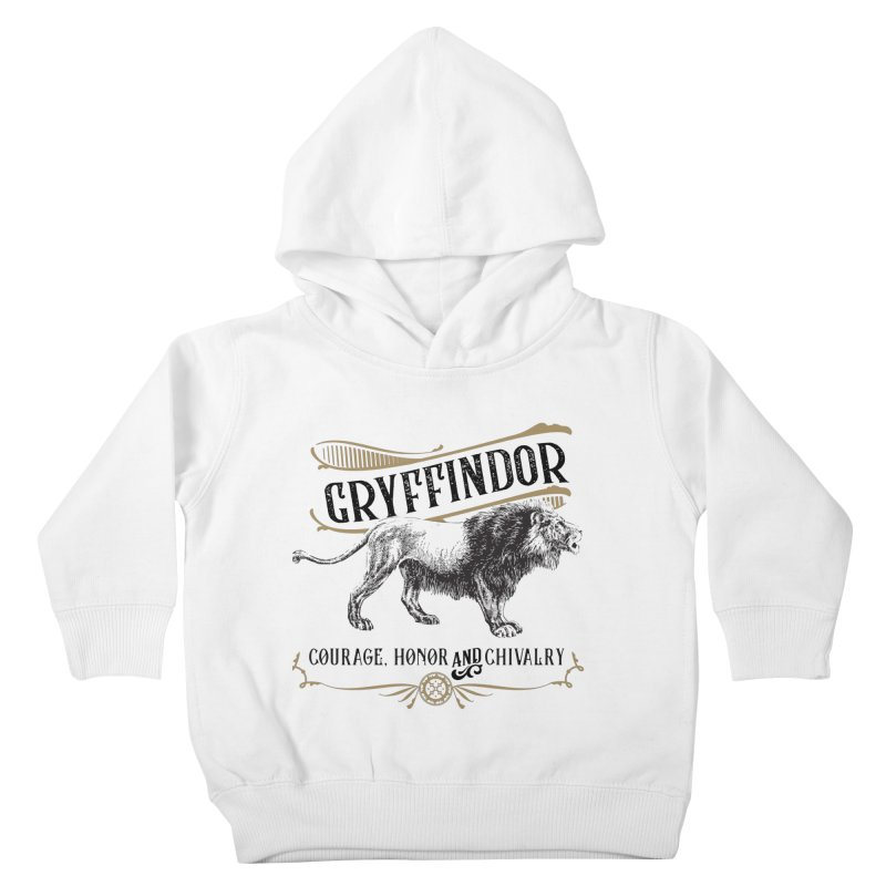 House of Gryffindor Kids Toddler Pullover Hoody by Wicked and Wonder