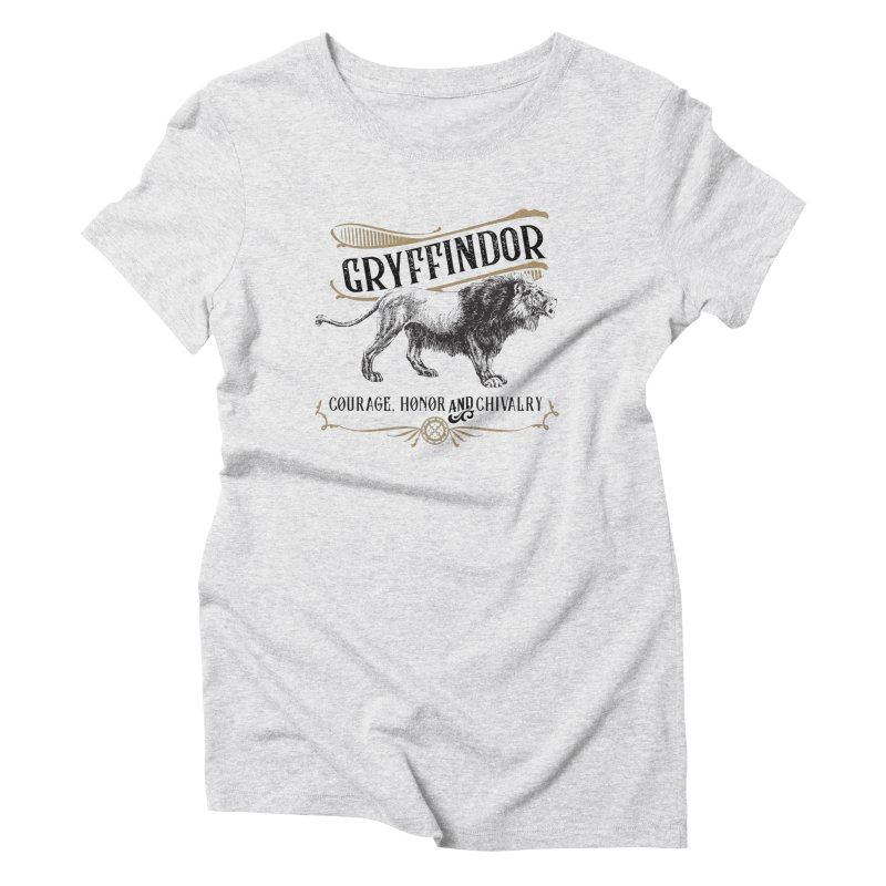 House of Gryffindor Women's Triblend T-Shirt by Wicked and Wonder