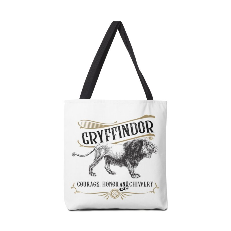 House of Gryffindor Accessories Tote Bag Bag by Wicked and Wonder