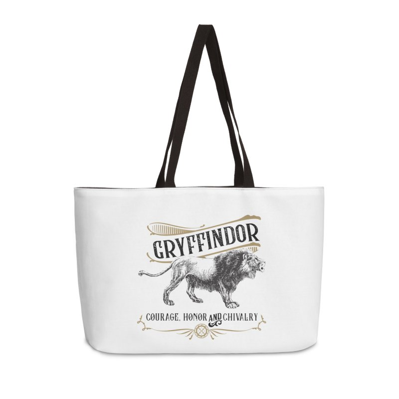 House of Gryffindor Accessories Weekender Bag Bag by Wicked and Wonder