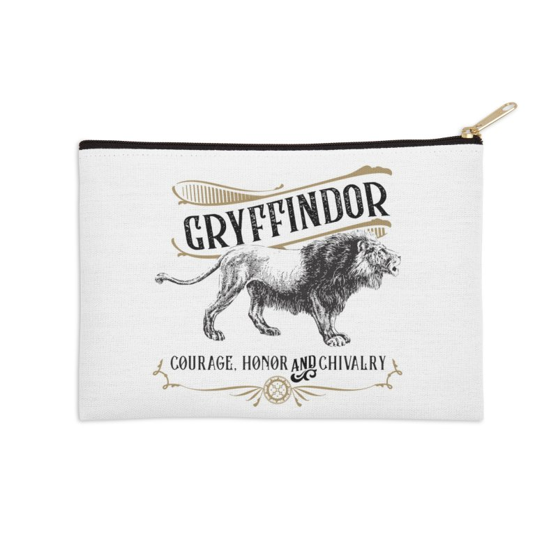 House of Gryffindor Accessories Zip Pouch by Wicked and Wonder