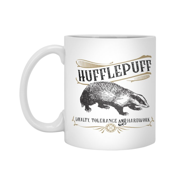 House of Hufflepuff Accessories Mug by Wicked and Wonder