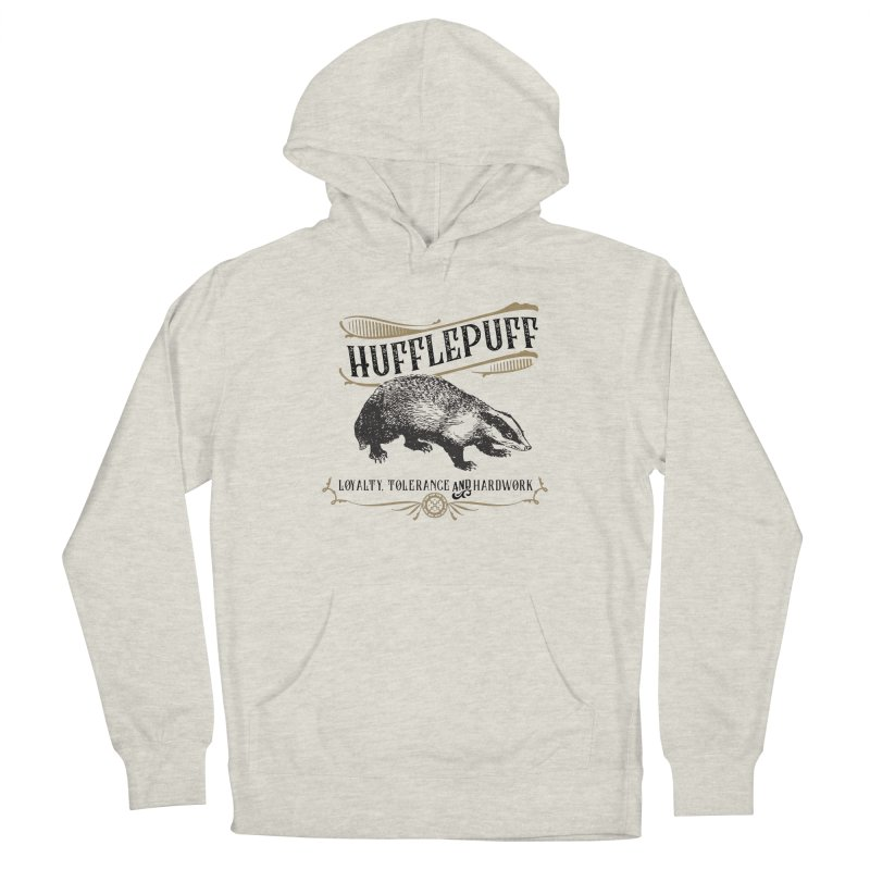 House of Hufflepuff Men's Pullover Hoody by Wicked and Wonder