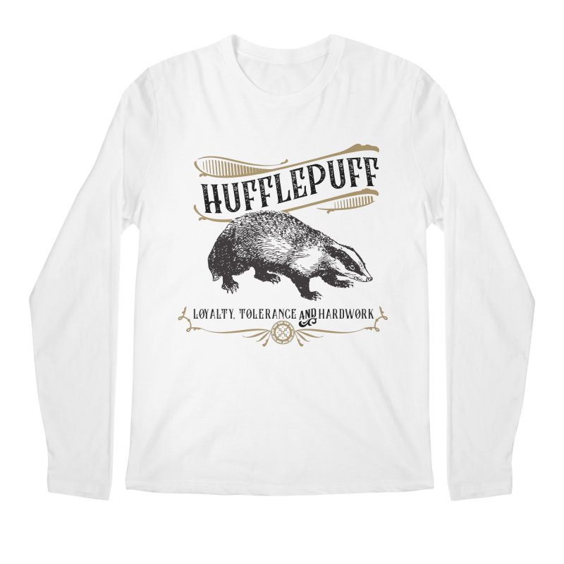 House of Hufflepuff Men's Longsleeve T-Shirt by Wicked and Wonder