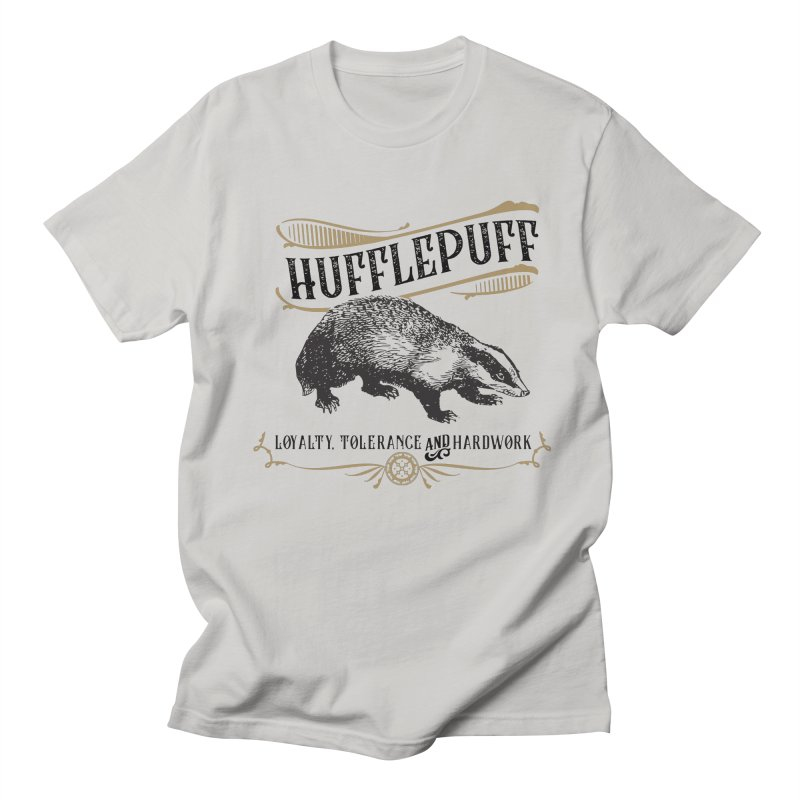 House of Hufflepuff Women's Regular Unisex T-Shirt by Wicked and Wonder