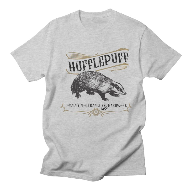 House of Hufflepuff Men's T-Shirt by Wicked and Wonder