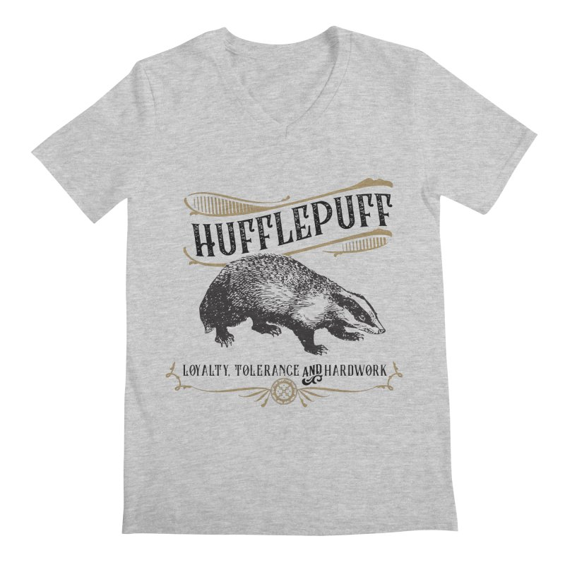 House of Hufflepuff Men's V-Neck by Wicked and Wonder