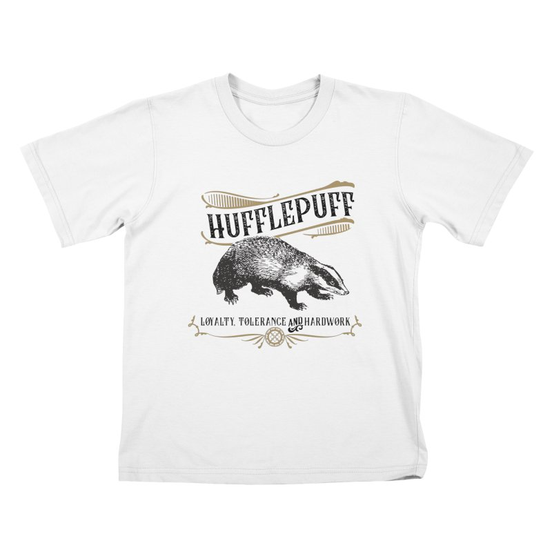 House of Hufflepuff Kids T-Shirt by Wicked and Wonder