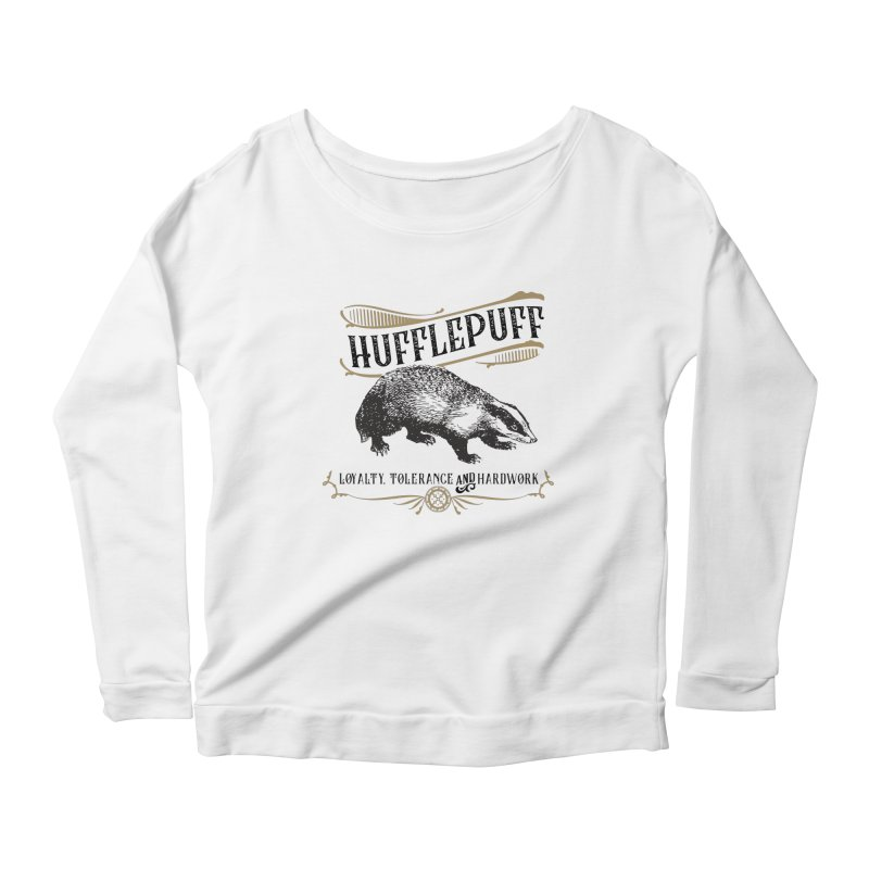 House of Hufflepuff Women's Longsleeve T-Shirt by Wicked and Wonder