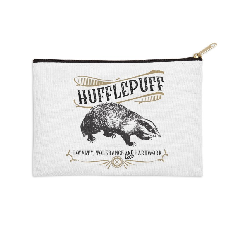 House of Hufflepuff Accessories Zip Pouch by Wicked and Wonder
