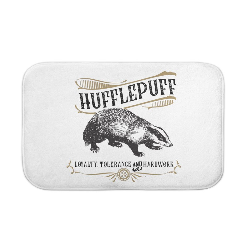 House of Hufflepuff Home Bath Mat by Wicked and Wonder