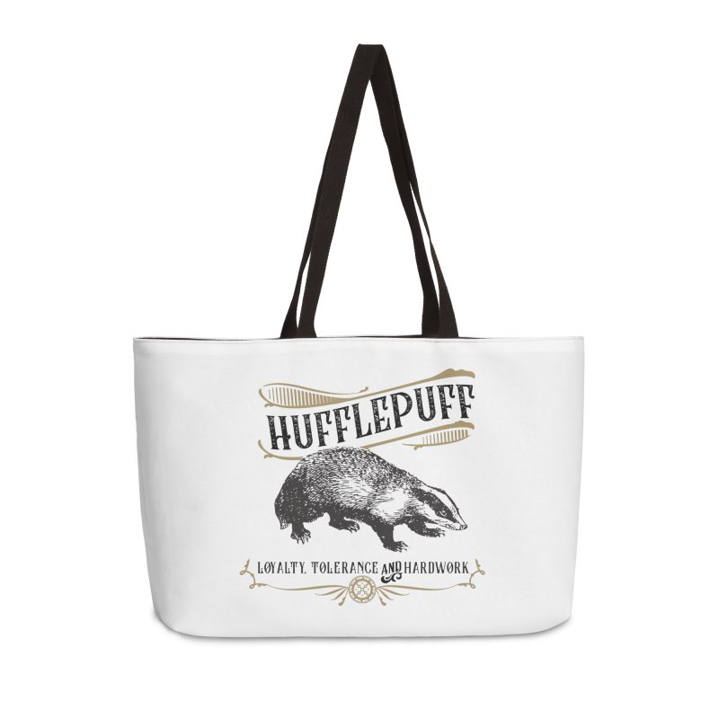 House of Hufflepuff Accessories Weekender Bag Bag by Wicked and Wonder