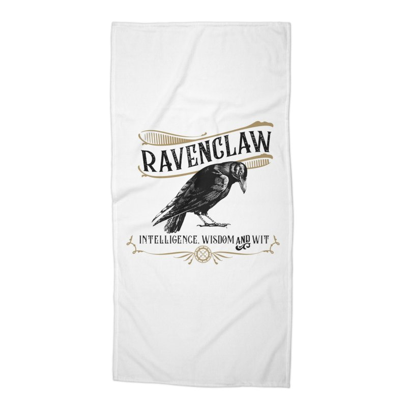 House of Ravenclaw Accessories Beach Towel by Wicked and Wonder