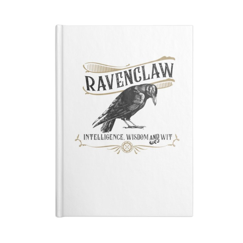 House of Ravenclaw Accessories Lined Journal Notebook by Wicked and Wonder