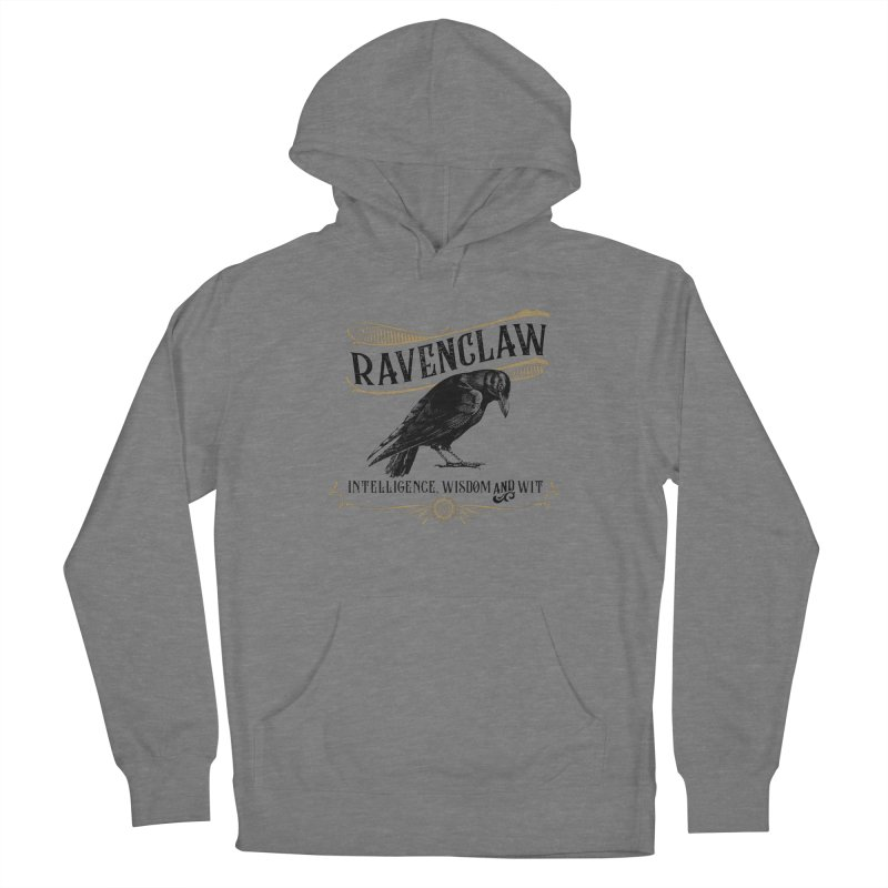 House of Ravenclaw Men's French Terry Pullover Hoody by Wicked and Wonder