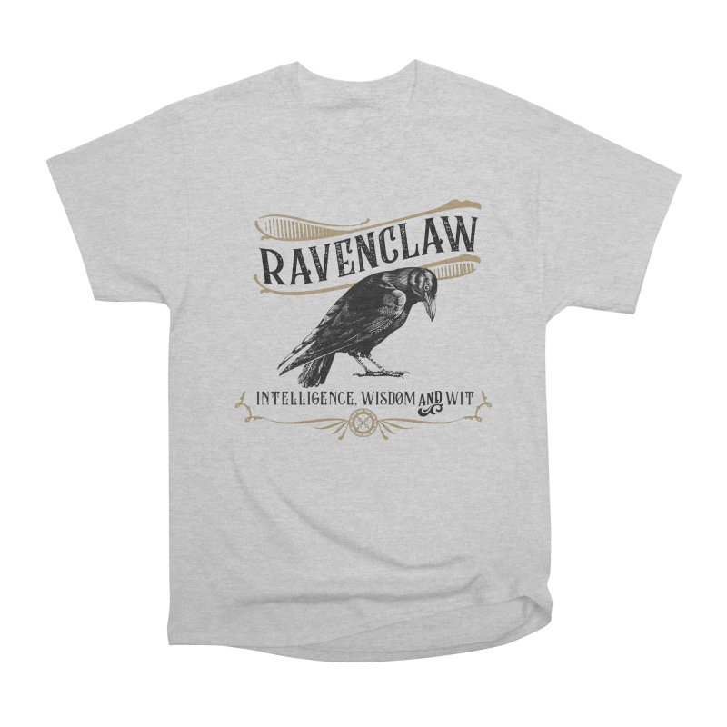 House of Ravenclaw Men's Heavyweight T-Shirt by Wicked and Wonder