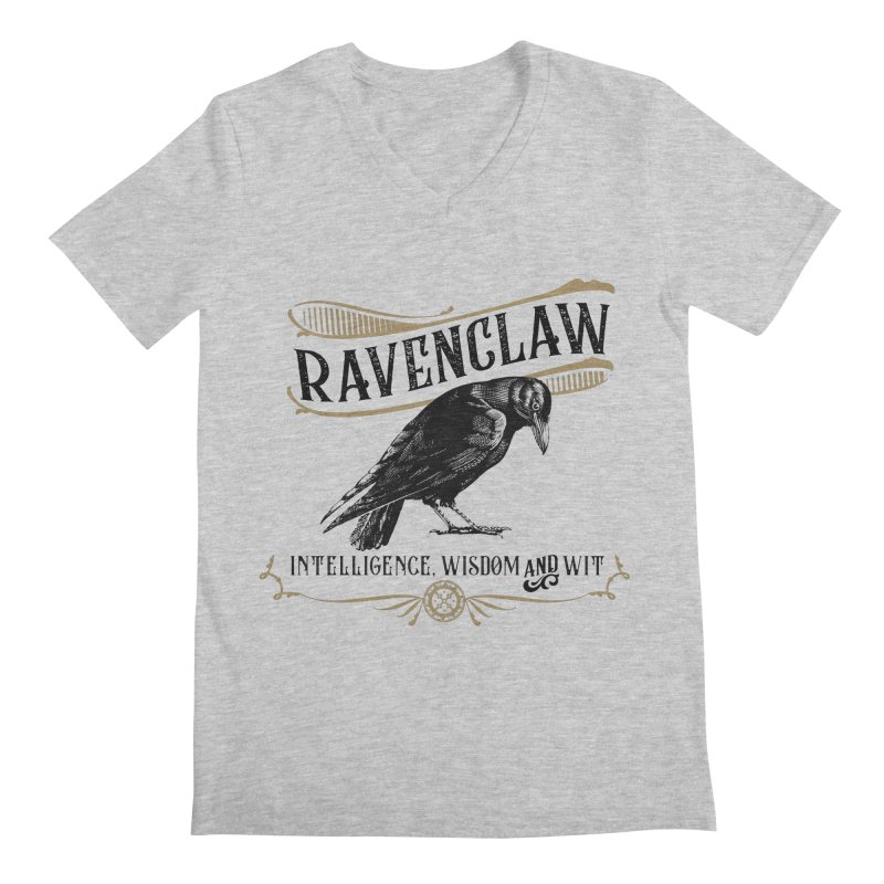 House of Ravenclaw Men's V-Neck by Wicked and Wonder