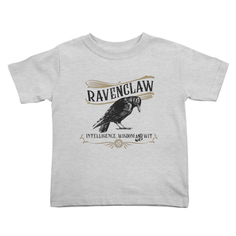 House of Ravenclaw Kids Toddler T-Shirt by Wicked and Wonder